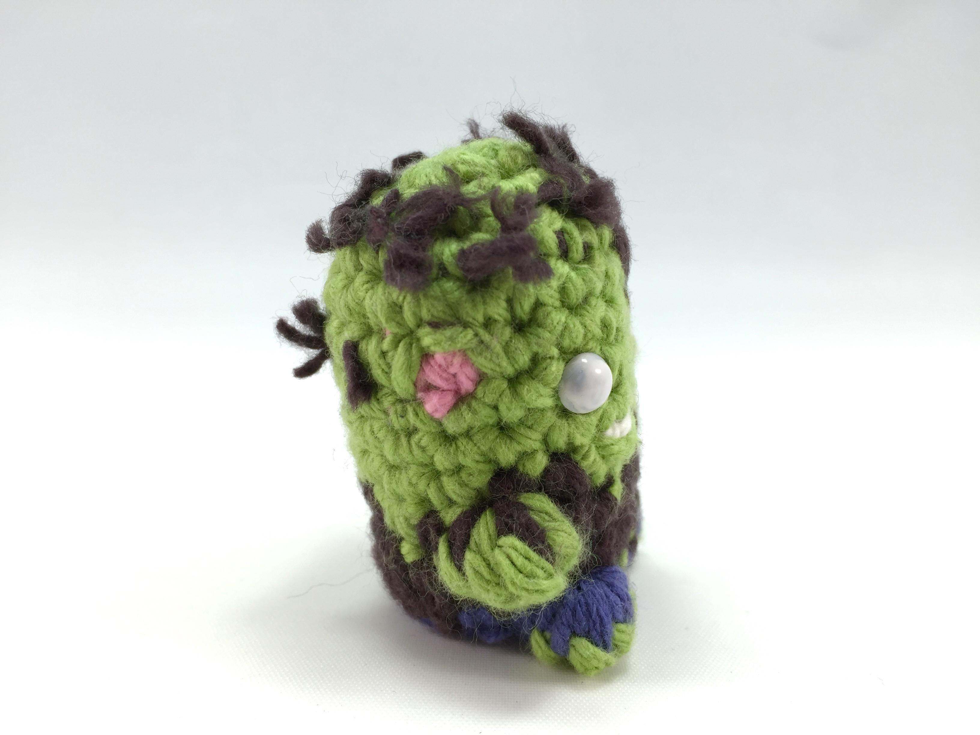 Zombie Mini Amigurumi Pattern Louies Loops