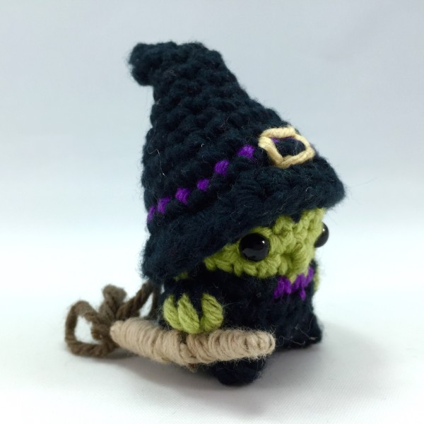 Witch Mini Amigurumi Pattern Louies Loops