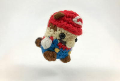 Crocheted Mario